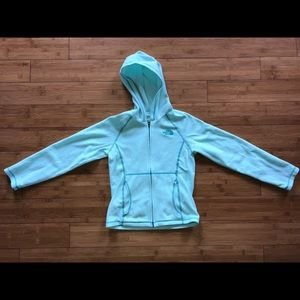 Girls The north face sweater 7/8